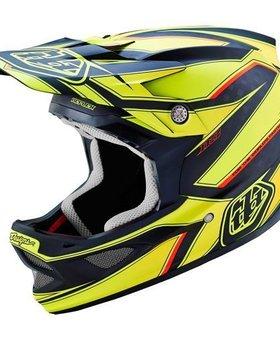 Troy Lee Designs Troy Lee D3 Carbon Reflex Yellow Medium Helmet