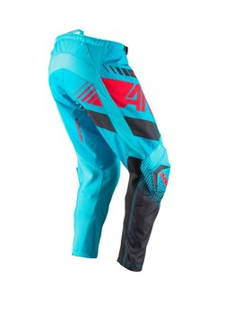 Answer Racing 2017 Answer Syncron Youth Cyan/Red Size Y28 Pants
