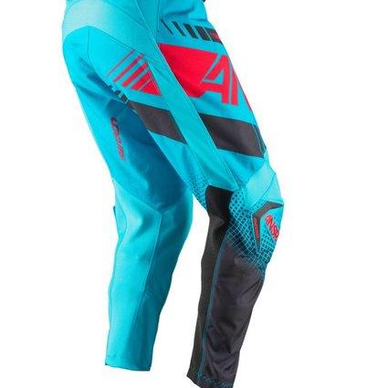 Answer Racing 2017 Answer Syncron Cyan/Red Size 28 Pants
