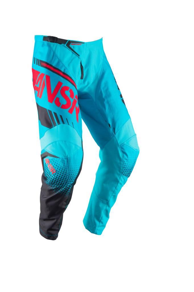 Answer Racing 2017 Answer Syncron Cyan/Red Size 30 Pants