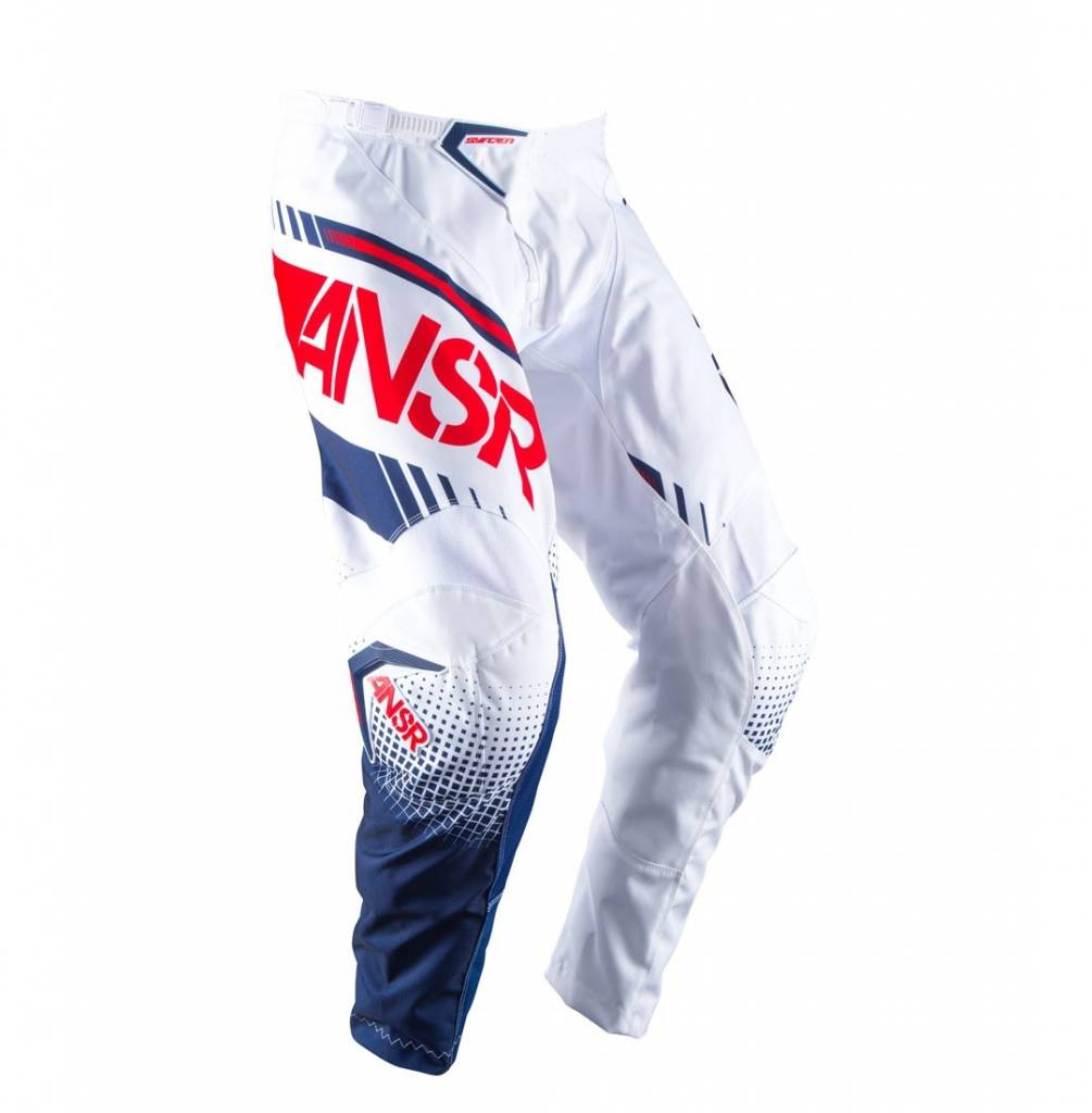 Answer Racing 2017 Answer Syncron White/Red Size 26 Pants