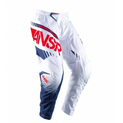 Answer Racing 2017 Answer Syncron White/Red Size 28 Pants