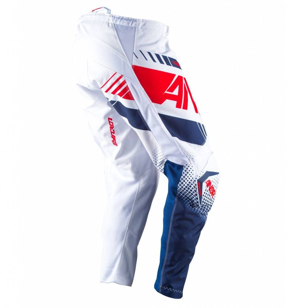 Answer Racing 2017 Answer Syncron Youth White/Red Size Y28 Pants