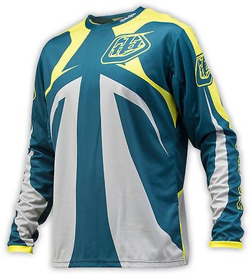 Troy Lee Designs Troy Lee Sprint Reflex Dirty Blue Medium Jersey