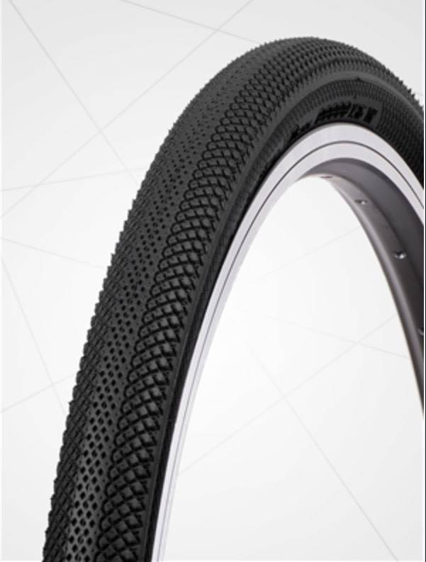 """Vee Tire Co. 20x1-3/8"""" Vee Rubber Speedster Black Tire"""