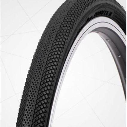 "Vee Tire Co. 24x1-3/8"" Vee Rubber Speedster Black Tire"