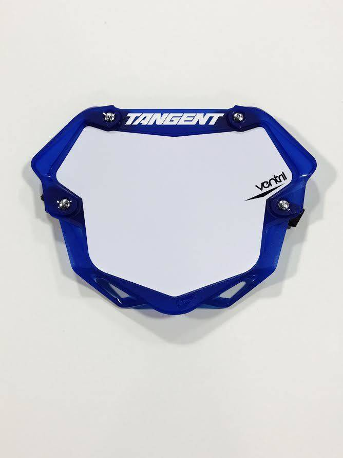 Tangent Products Tangent 3D Ventril Pro Trans Blue Number Plate