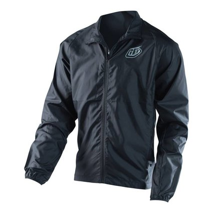 Troy Lee Designs Troy Lee Skyline Black Large Windbreaker