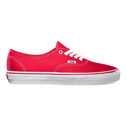 Vans Authentic Red Shoes - Gordy s Bicycles c138687f05