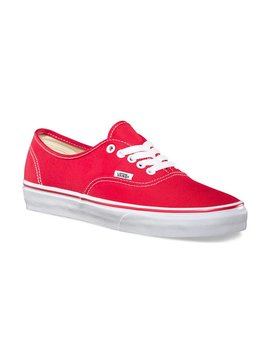 Vans Vans Authentic Red Shoes