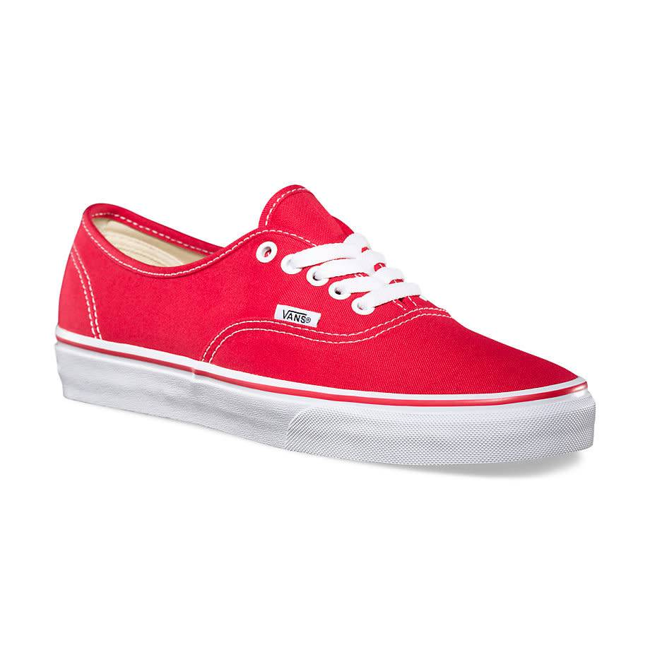 6ab630fcc098 Vans Authentic Red Shoes - Gordy s Bicycles