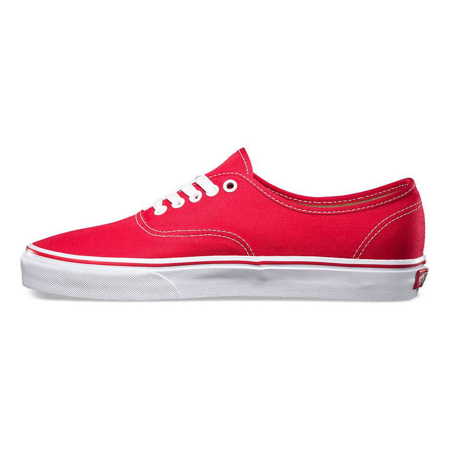 006326a1355 Vans Authentic Red Shoes - Gordy s Bicycles