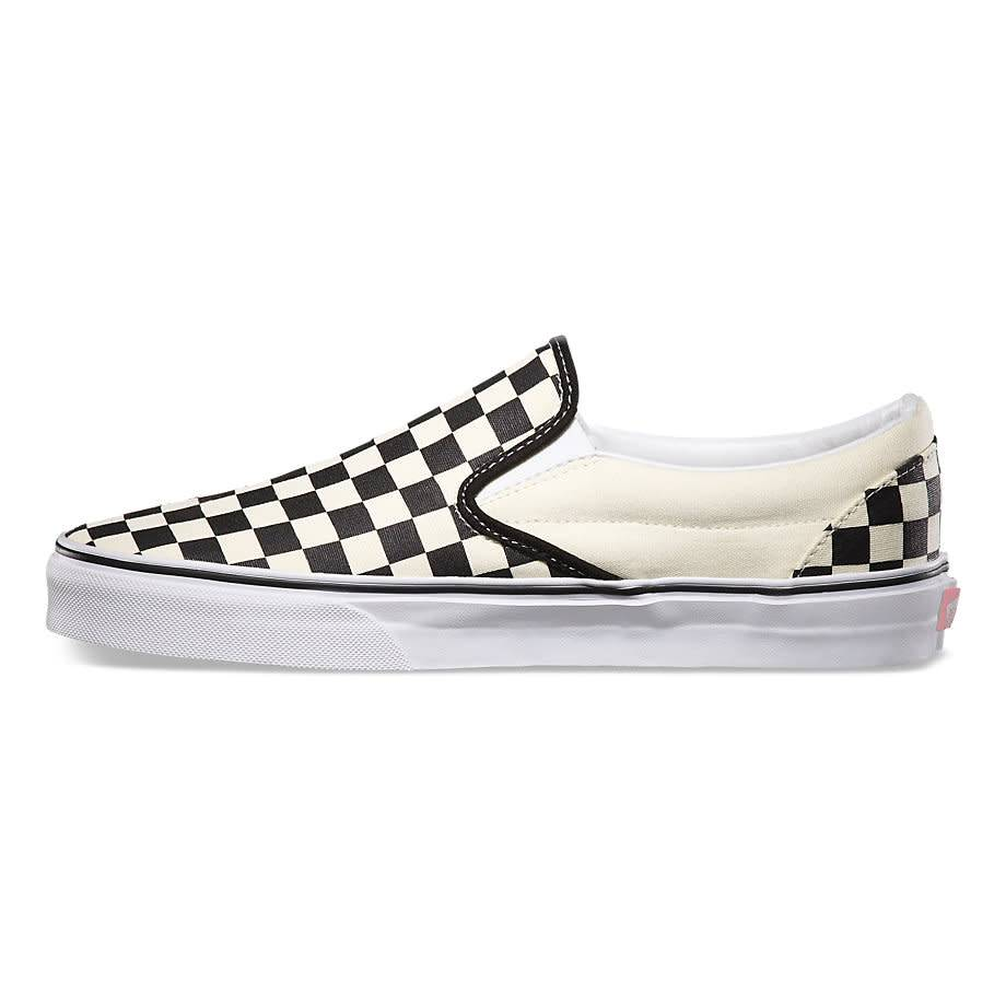 Vans Vans Slip-On Black/White Checkerboard Shoes