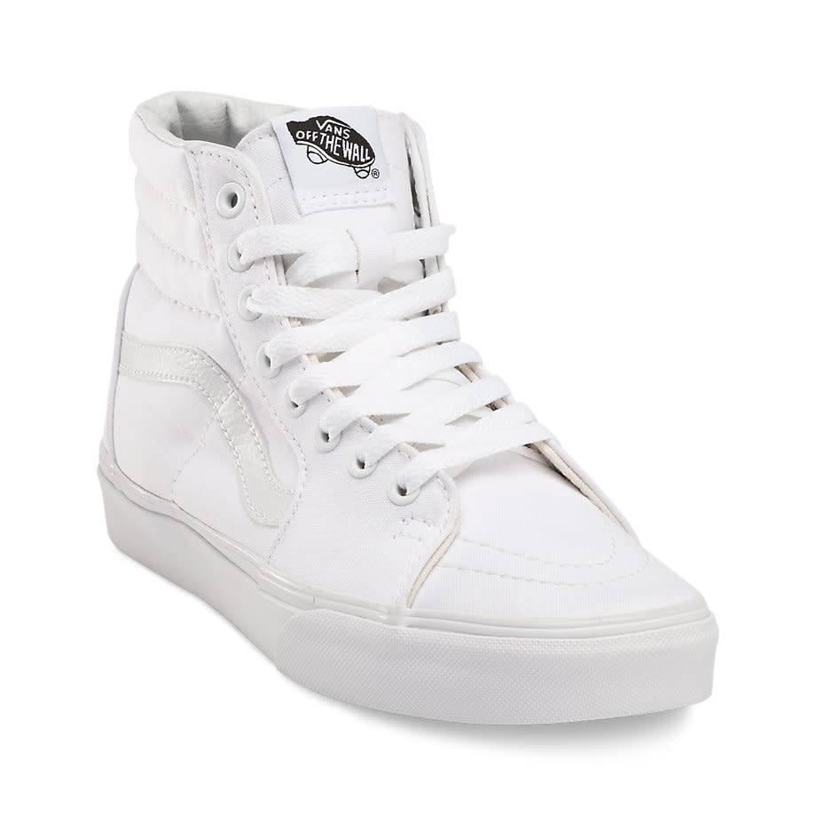 75595f92c81e Vans SK8-HI True White Shoes - Gordy s Bicycles