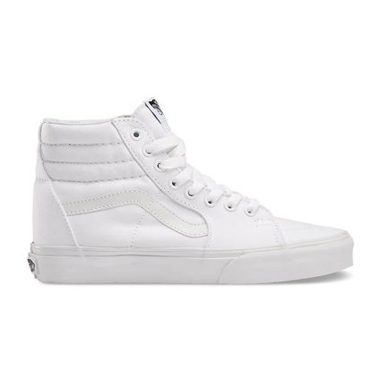 9bcdff7747549e Vans SK8-HI True White Shoes - Gordy s Bicycles
