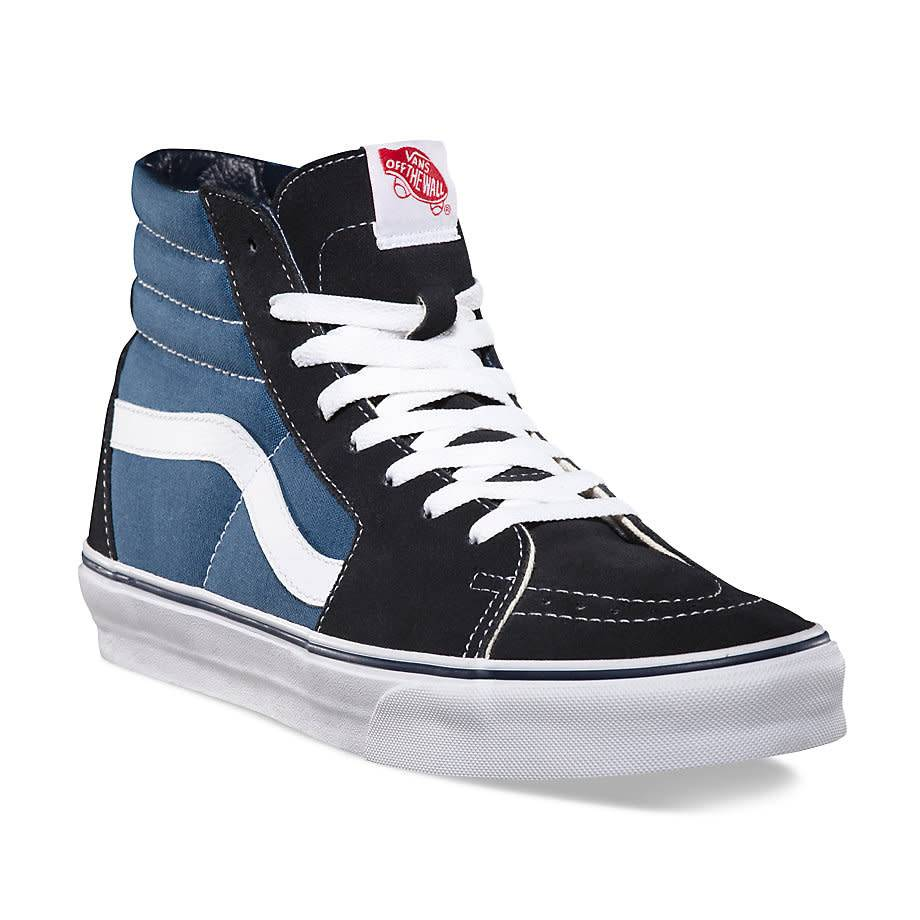 7383f7b90cf Vans SK8-HI Navy Shoes - Gordy's Bicycles