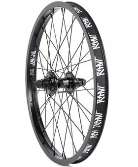Rant Rant Party on V2 Cassette 9T Black Rear Wheel