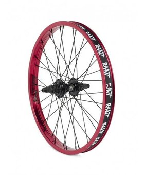 Rant Rant Party on V2 Cassette 9T Red Rear Wheel