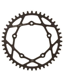 Rennen Rennen 5-Bolt Threaded 43T Black Chainring