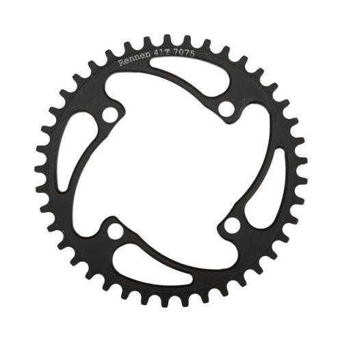Rennen Rennen 4-Bolt Threaded 41T Black Chainring