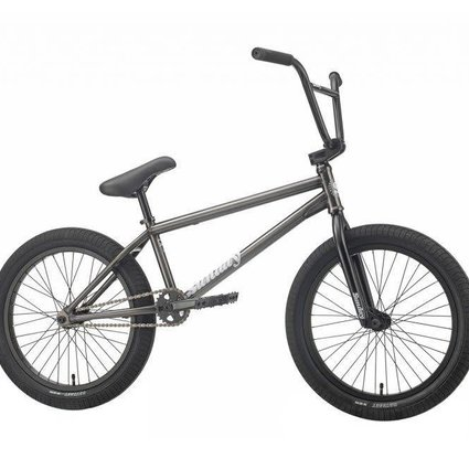 "Sunday 2019 Sunday EX Childs 21"" Semi-Matte Trans Black Bike"