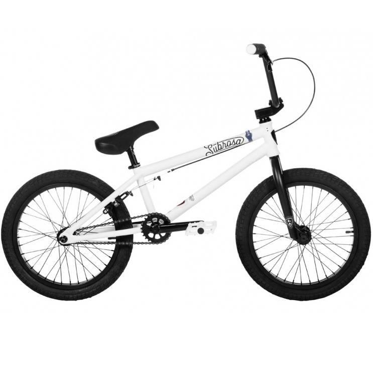"Subrosa 2019 Subrosa Tiro 18"" Satin White Bike"