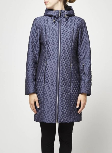 Metropolis Legacy BLUE QUILTED COAT