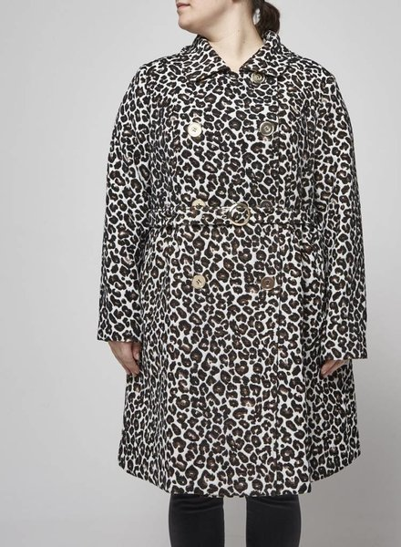 Manon Baptiste SALE - LEOPARD COAT - NEW