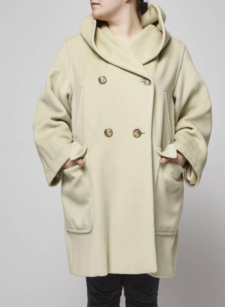MaxMara  Off white coat