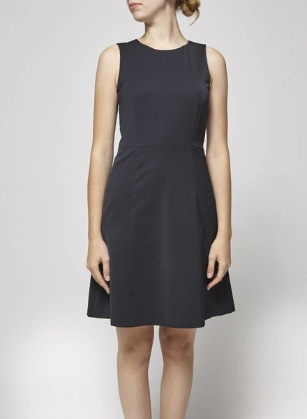 Theory WOOLEN BLACK DRESS