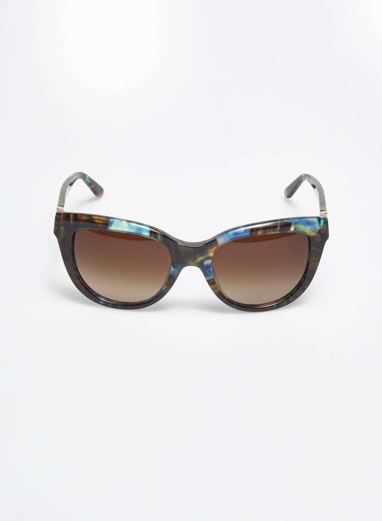 d0e29fad39029 Tory Burch Sale - Turquoise Tortoise Sunglasses - DEUXIEME EDITION