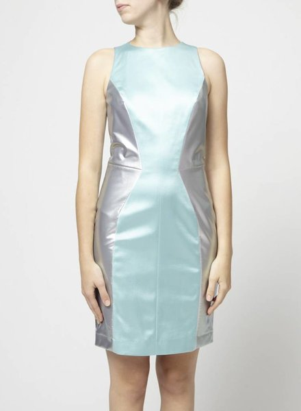Hugo Boss BLUE SHINY DRESS
