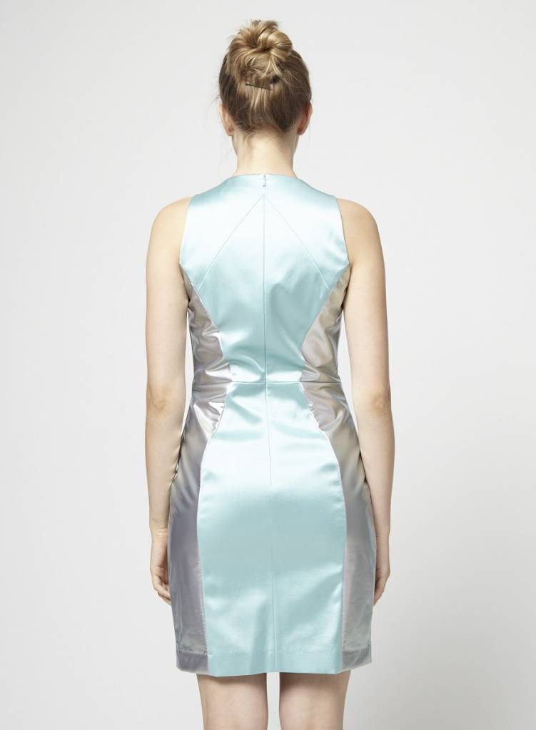 Hugo Boss Blue shiny dress