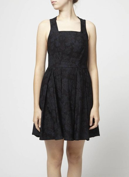 Bodybag by Jude SALE - BLACK FLOWER DRESS
