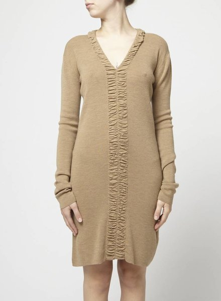 Balenciaga LONG TAUPE DRESS