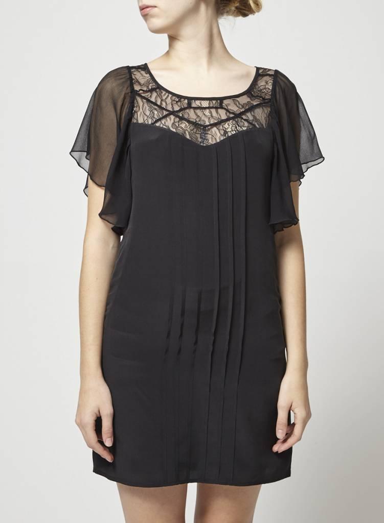 a53229cecb1 Robe noire haut en dentelle - Designer inconnnu - Deuxième édition