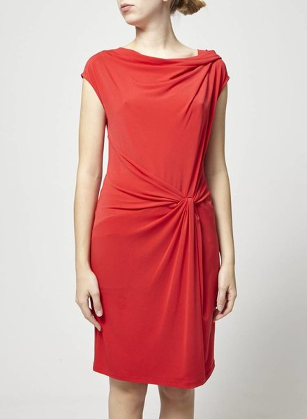 Michael Kors RED DRESS TIED AT THE WAIST