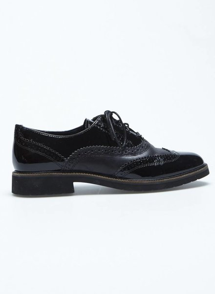 Rockport CHAUSSURES EN CUIR VERNIS STYLE OXFORD