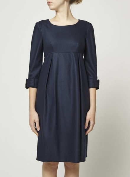 Burberry WOOLEN BLUE DRESS