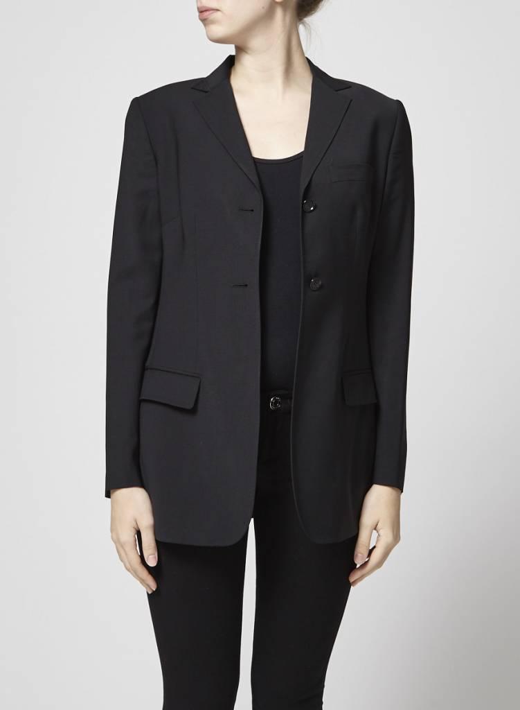 Dolce & Gabbana Veston noir en laine
