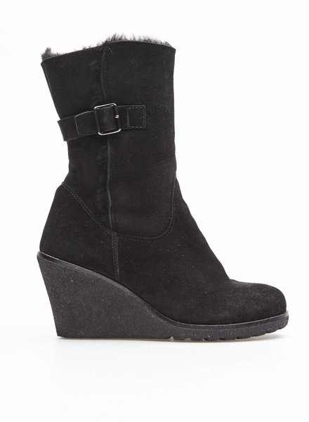 La canadienne SALE - BLACK WINTER BOOTS