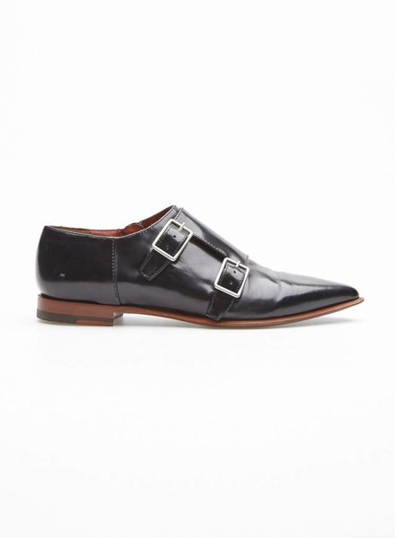 Acne Studios BLACK LEATHER SHOES