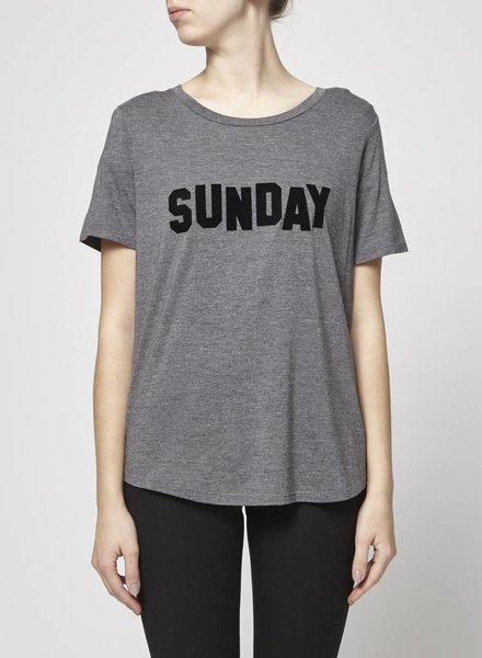 "South Parade T-SHIRT GRIS ""SUNDAY"" - NEUF"
