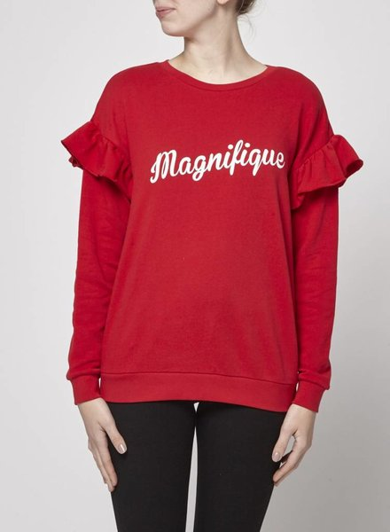"""South Parade PULL ROUGE """"MAGNIFIQUE"""" - NEUF"""