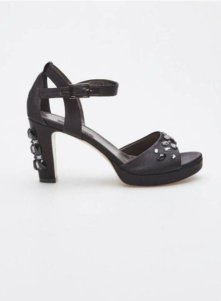 Marina Rinaldi NAVY JEWELRY SANDALS