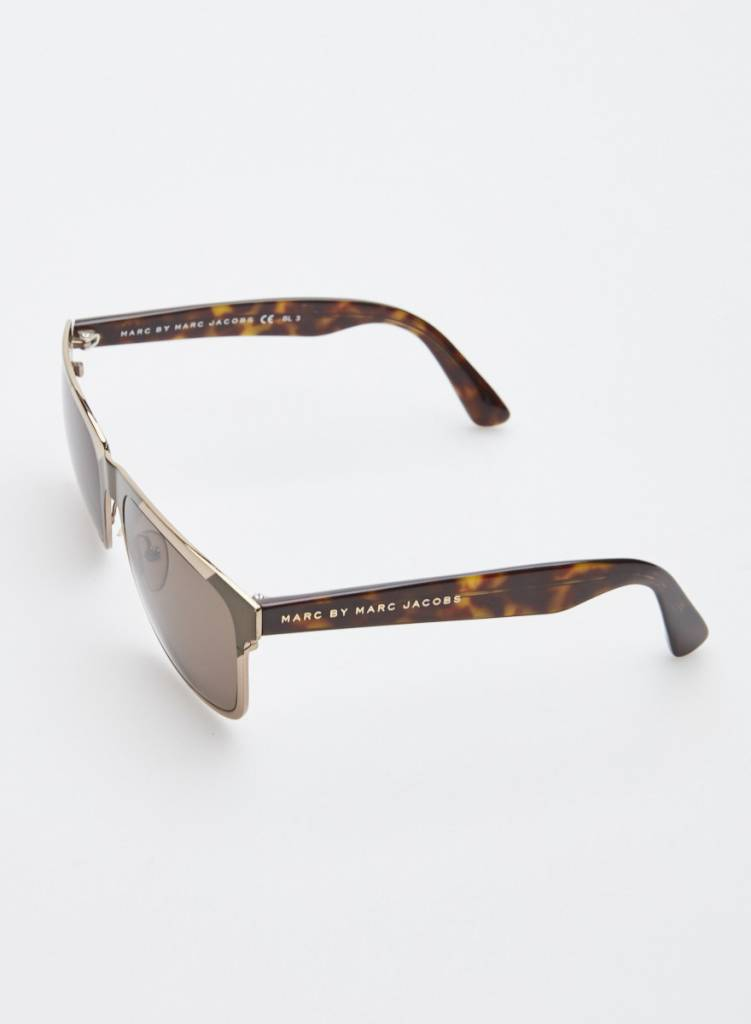 Marc Jacobs Lunettes de soleil métallique bicolore