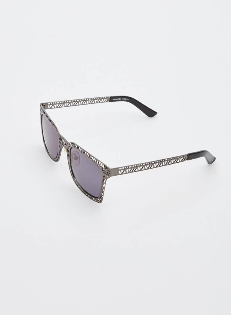 Sass & Bide Lunettes de soleil gris métallique