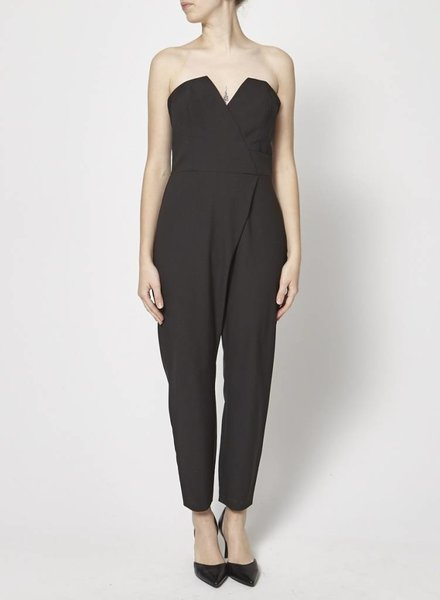 Camilla and Marc COMBI-PANTALON BUSTIER NOIR