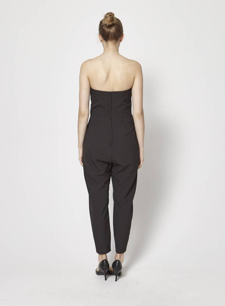 70f96a67cf11 Black Bustier Jumpsuit - CAMILLA AND MARC - DEUXIEME EDITION