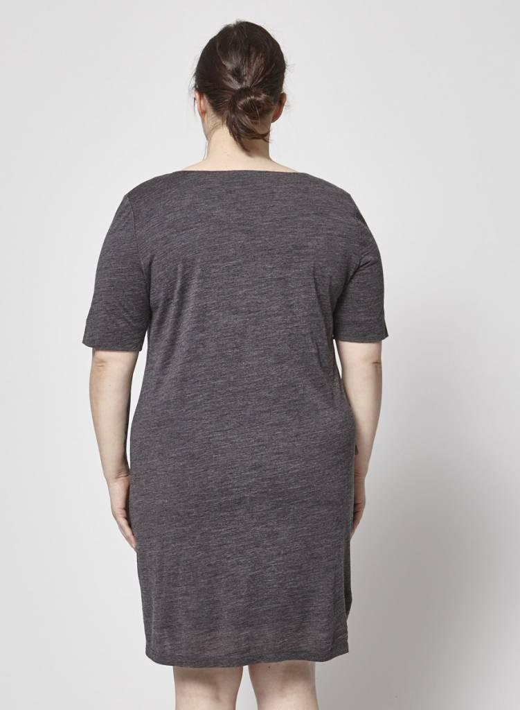 a28dc6801a2 ... Atelier B Robe confort grise en laine - Neuve - Dispo en G ou TG